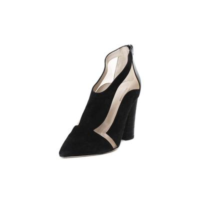 Giorgio Armani Size 9 Suede & Mesh Heels