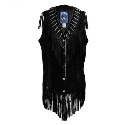 Tribe America Size 14 Fringed Vest