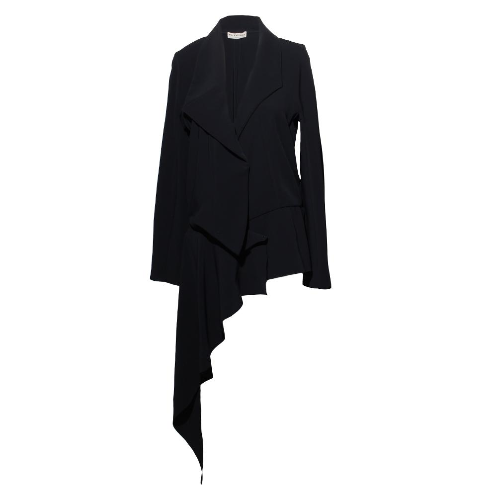 Balenciaga Ruffle Peplum Jacket