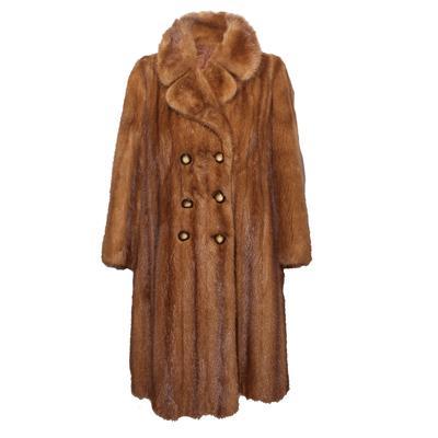 Pellicceria Castellani Mink Fur Coat