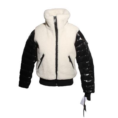 SAM Size M Carson Faux Fur Bomber Jacket