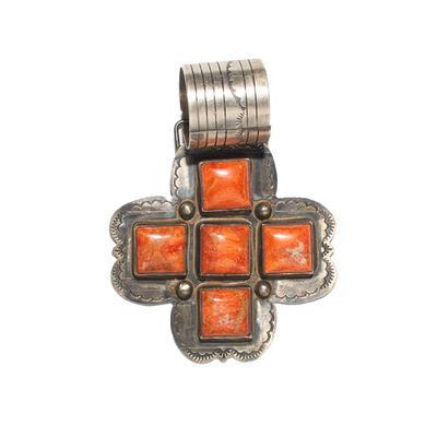 Rocki Gorman Silver Cross Pendant