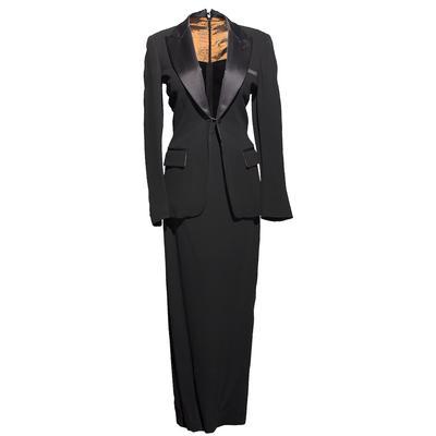 Jean Paul Gauliter Size 4 Tuxedo Dress