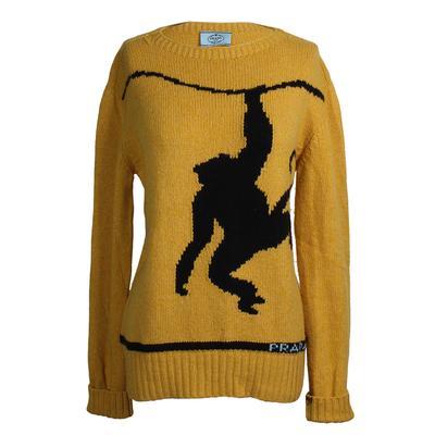 Prada Size 40 Monkey Cashmere Sweater