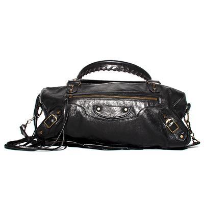 Balenciaga Moto City Handbag