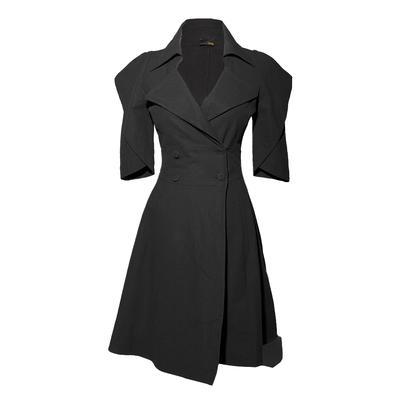 Fendi Size 40 Black Dress