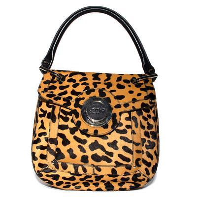 Roger Vivier Pony Hair Leopard Handbag
