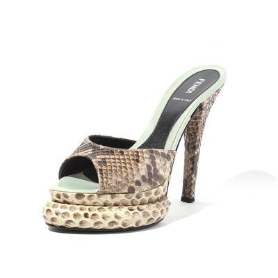 Fendi Python Size 8.5 Heels