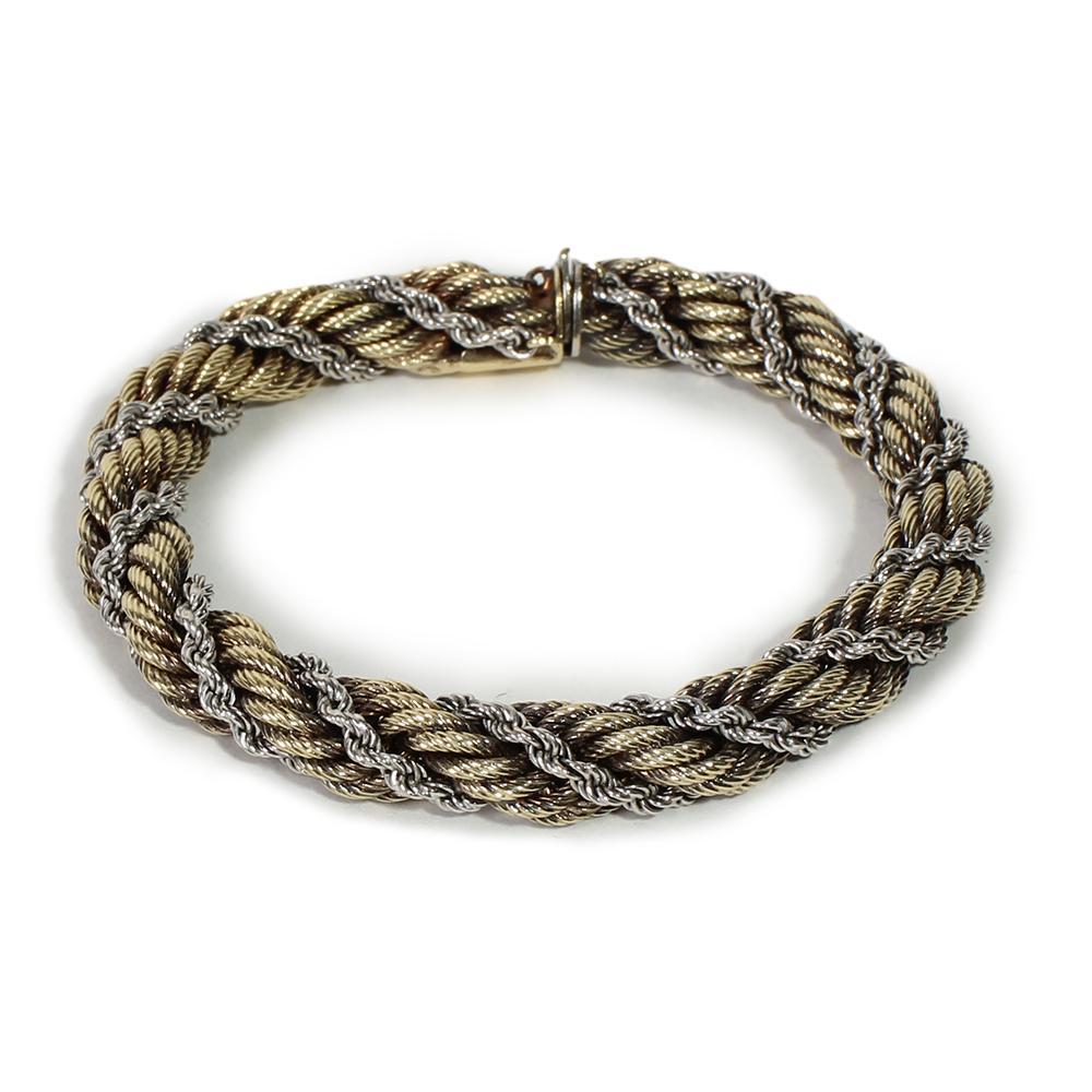 Aurafin Weave Rope Bracelet