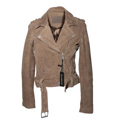 BLANKNYC Suede Size Small Moto Jacket