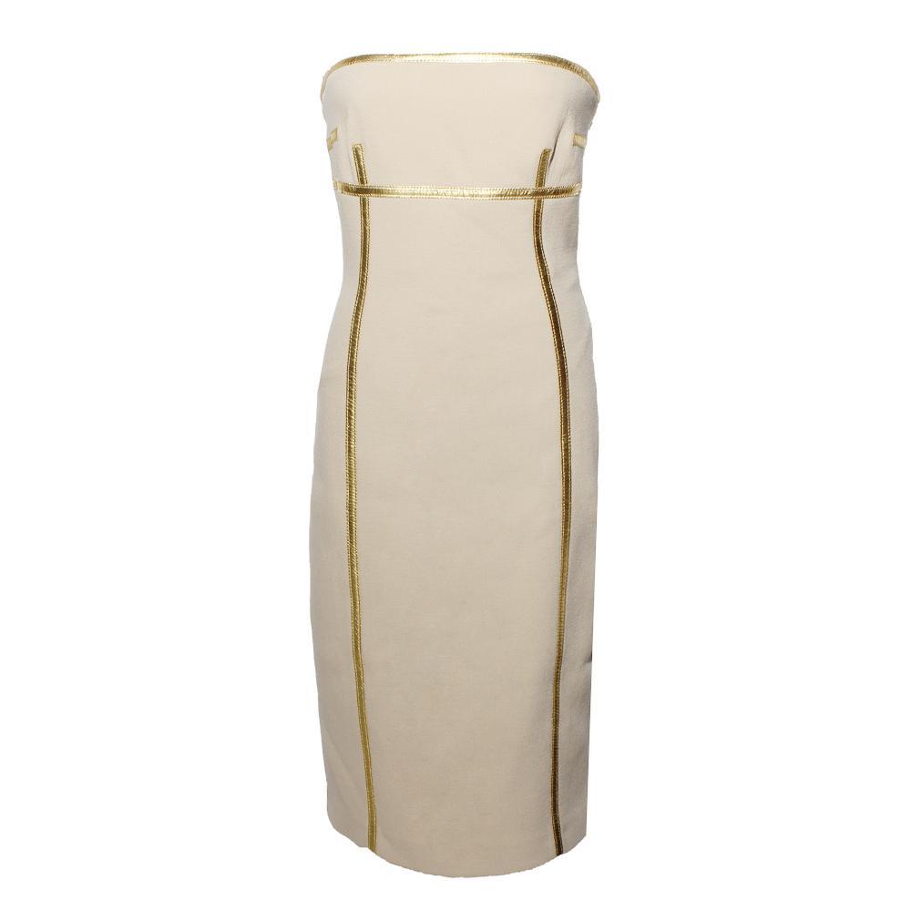 Michael Kors Size 4 Strapless Dress