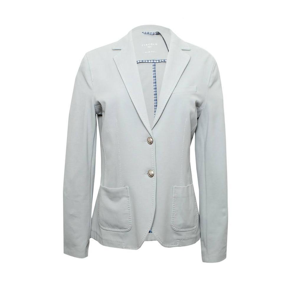 Circolo 1901 Size 46 Light Blue Blazer