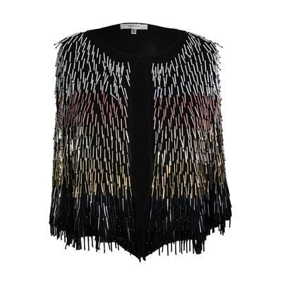 Milly Size Large Beaded Evening Jacket
