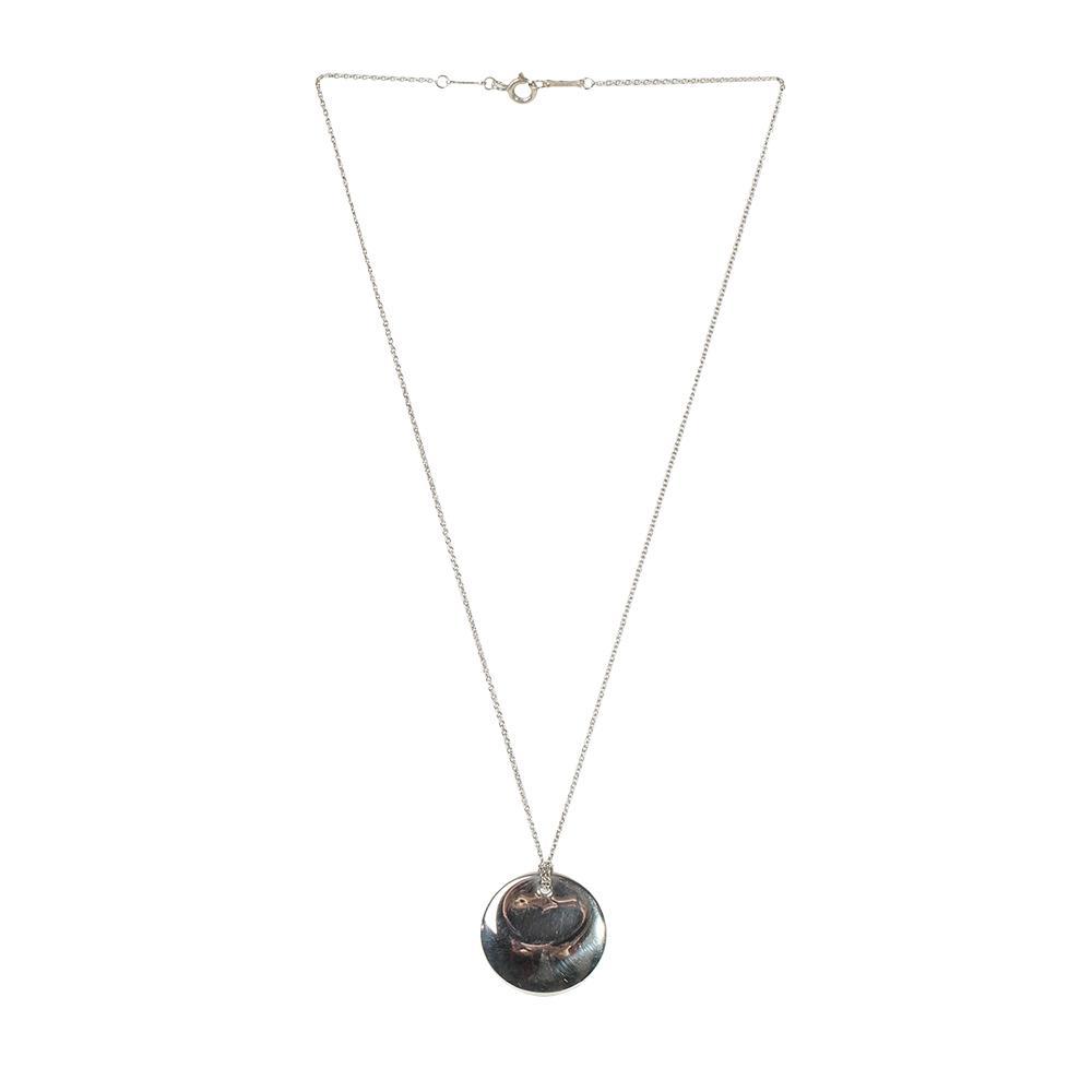 Tiffany + Co.Round Pendant Necklace