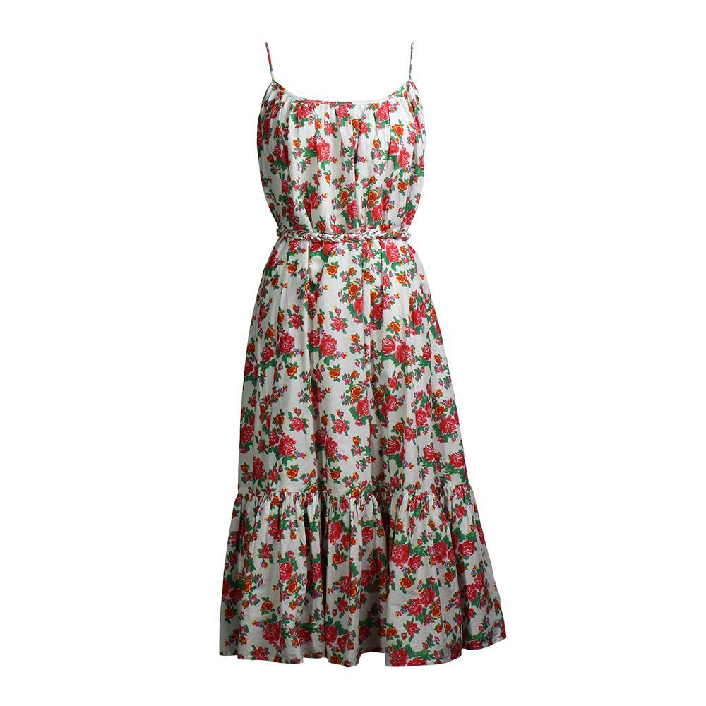 Rhode Size Medium Floral Strapless Dress