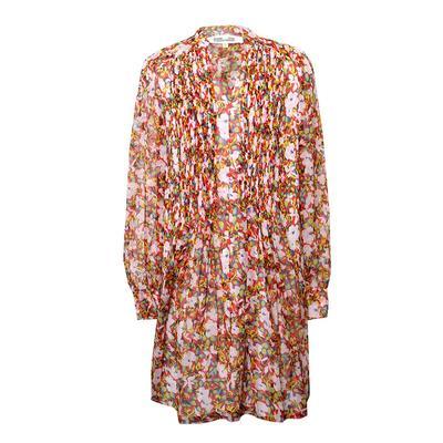 Diane Von Furstenberg Size Small Pink Floral Dress