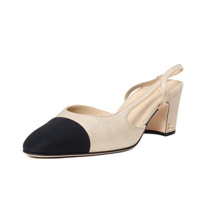 Chanel Size 10 Spectator Slingback Heels