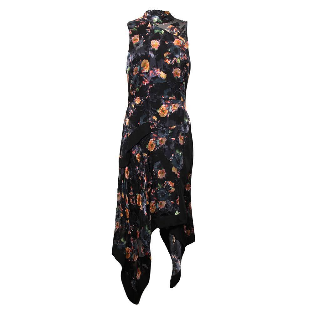 Nicole Miller Size 10 Floral Dress