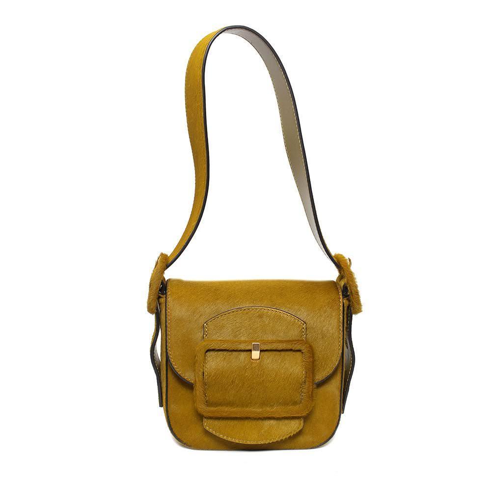 Tory Burch Sawyer Calf Hair Bag