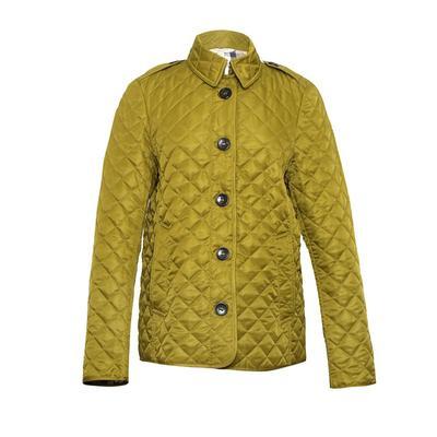 Burberry Brit Size XL Green Quilt Coat