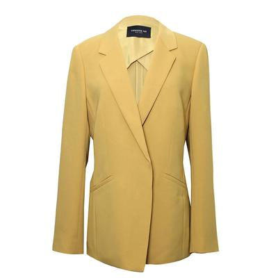 Lafayette 148 Size Medium Yellow Blazer