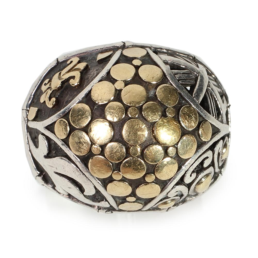 John Hardy Size 7 Dot Dome Taper Ring