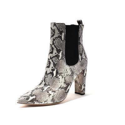 Tony Bianco Snake Size 10 Boots