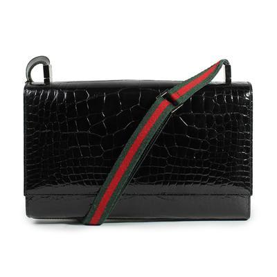 Gucci Vintage Crocodile Handbag