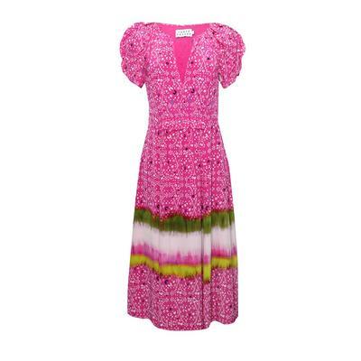 Tanya Taylor Size 4 Pink Maxi Dress