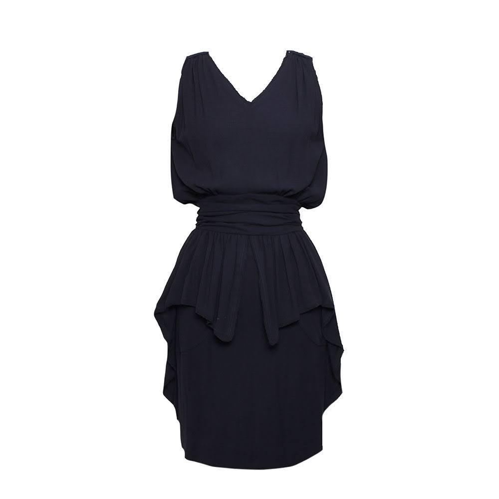 Fendi Size 38 Navy Dress