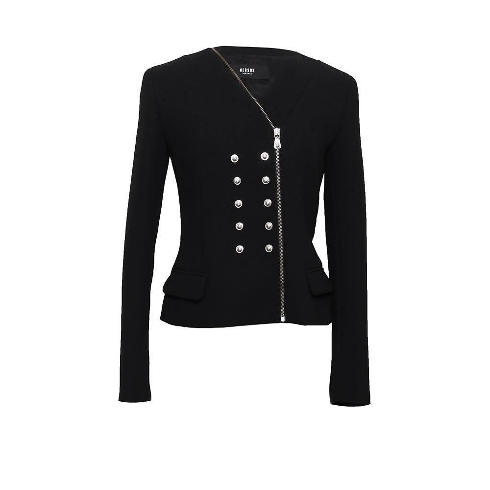 Versus Versace Size Small Black Blazer