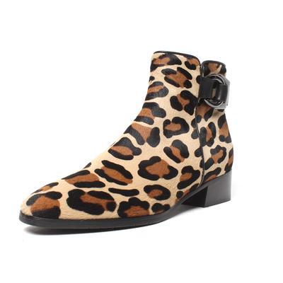 Aquatalia Size 7.5 Leopard Print Boot