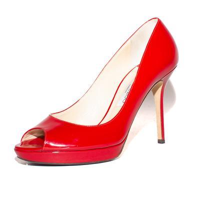 Jimmy Choo Size 9 Peep Toe Heels