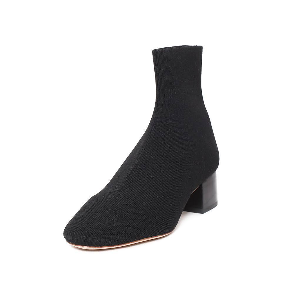 Loeffler Randall Black Size 7.5 Sock Booties