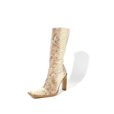 Gianni Bravo Python Size 7.5 Boots