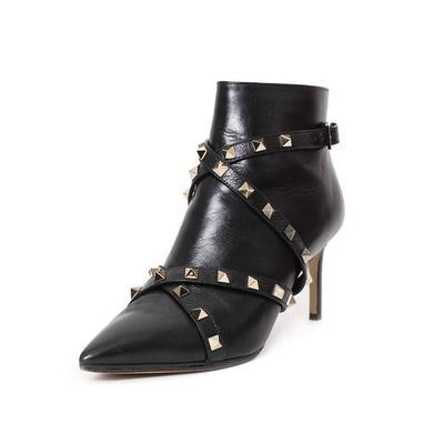 Valentino Size 6.5 Rockstud Booties