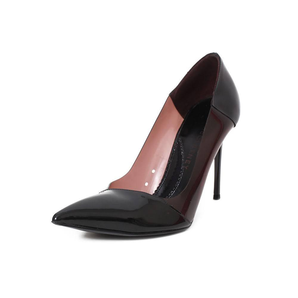 Stella Mccartney Black Translucent Size 8 Heels