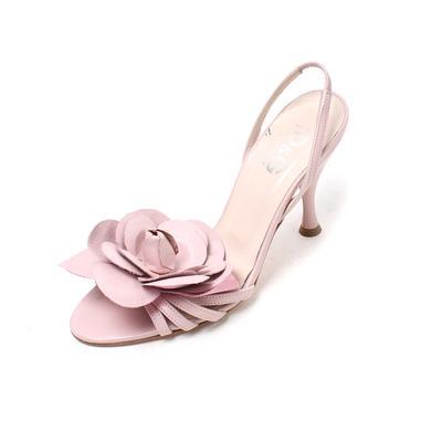 Dolce & Gabbana Size 6 Floral Slingback Heels