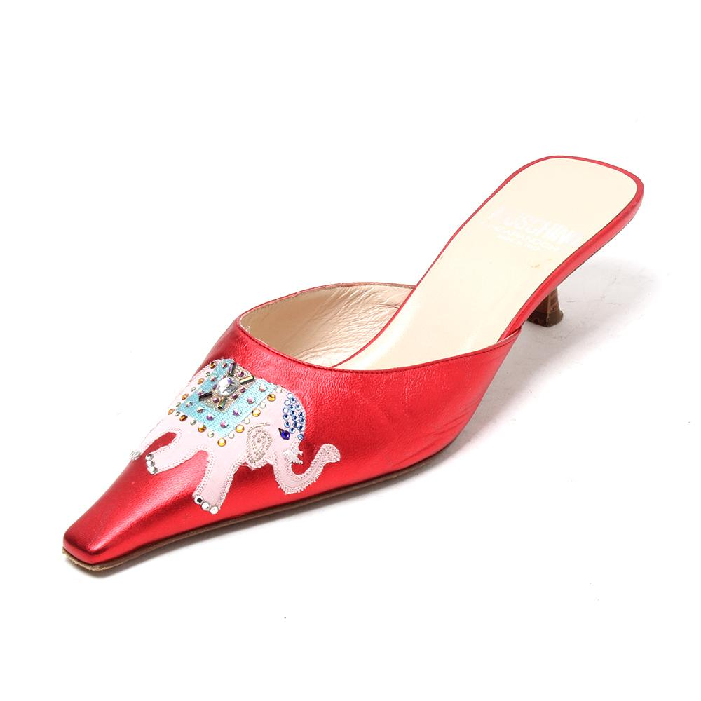 Moschino Cheap & Chic Size 7 Low Heel