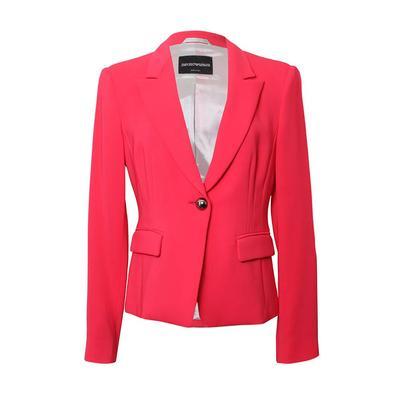 Emporio Armani Pink Size Small Blazer