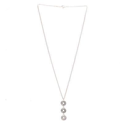 Tiffany & Co 925 1837 Logo Circles Chain