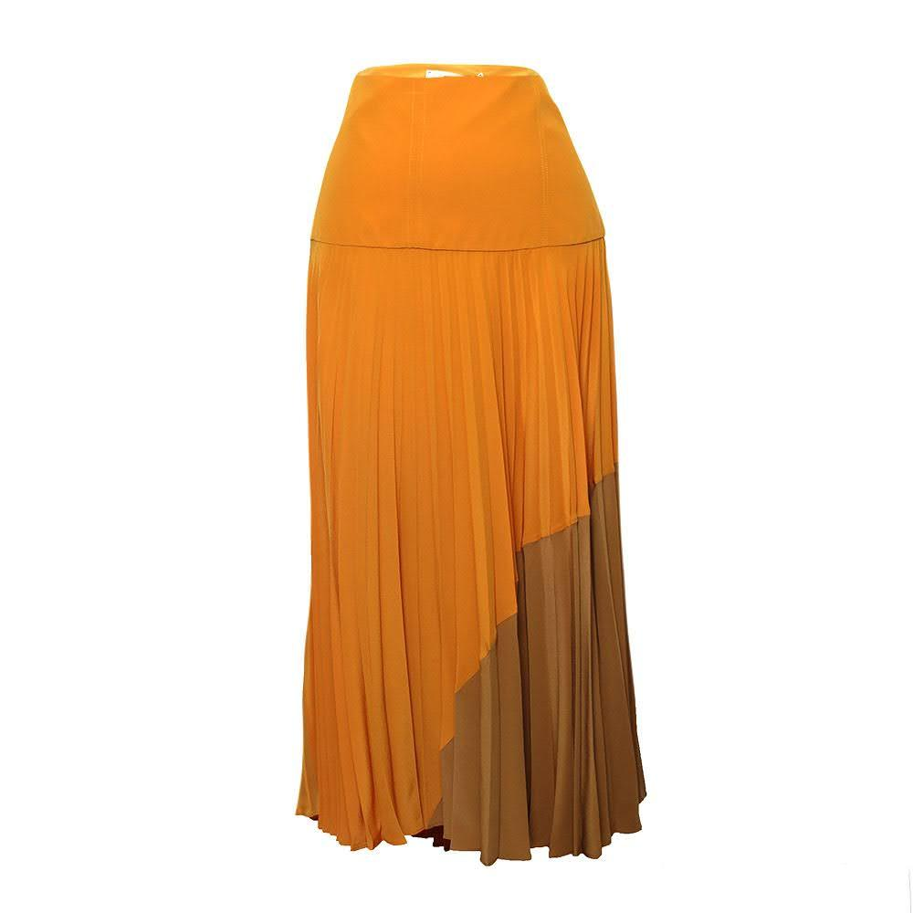 Fendi Size 48 Pleat Skirt
