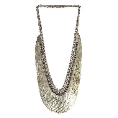 Deepa Gurnani Woven Bib Necklace
