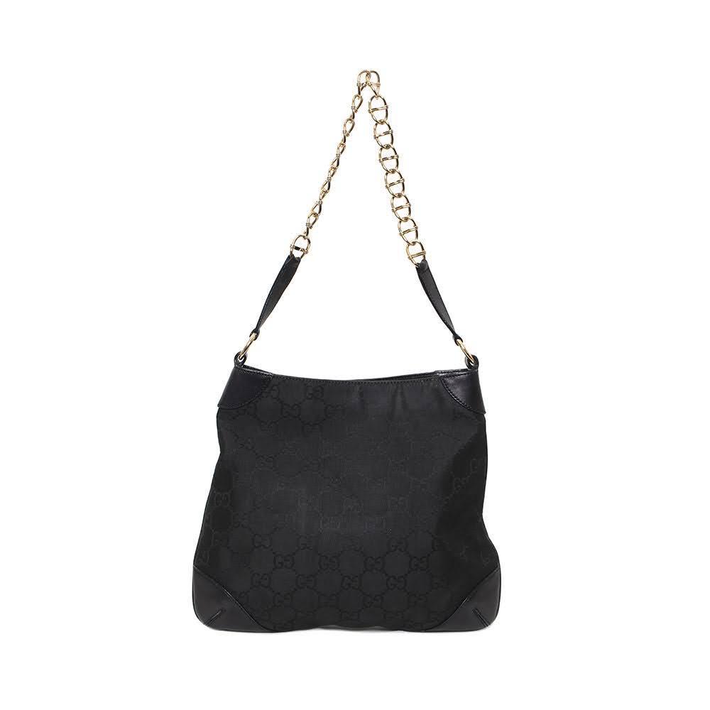 Gucci Monogram Chain Strap Handbag