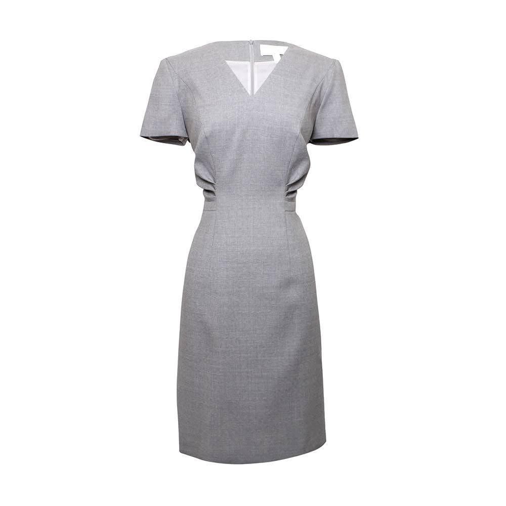 Boss Hugo Boss Size 6 Grey Dress New