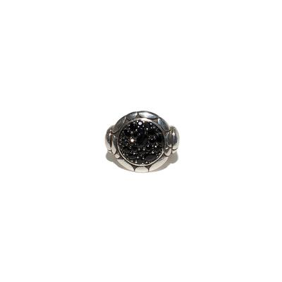 John Hardy Size 7.5 Kali Lava Black Sapphire Ring