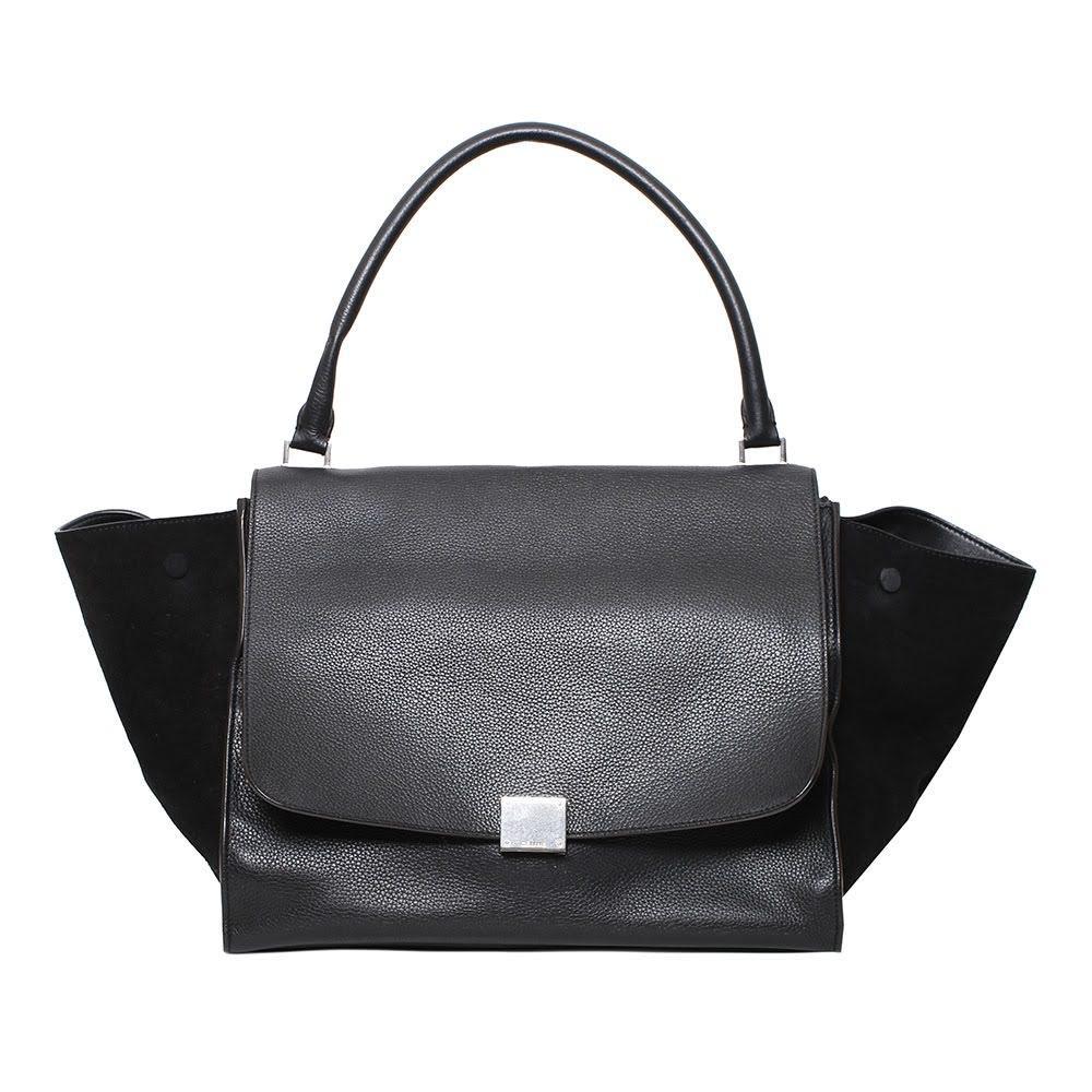 Celine Black Trapeze Bag