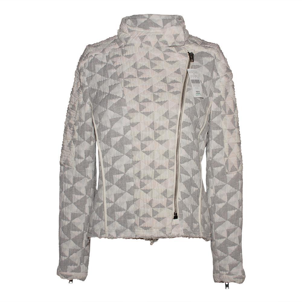 Iro Size 38 Grey Otavia Jacket