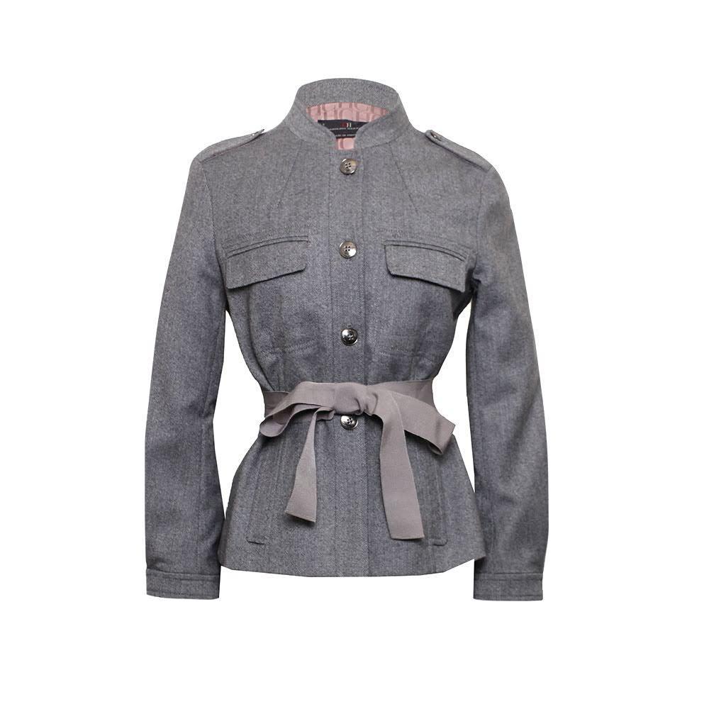 Carolina Herrera Size S Grey Jacket