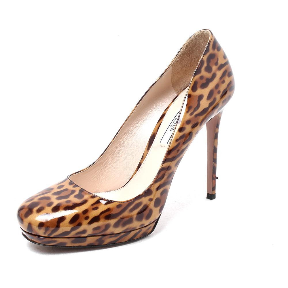 Prada Size 9.5 Animal Print High Heel